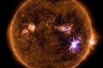Вспышка на Солнце, архивное фото