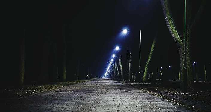 Темная улица, архивное фото