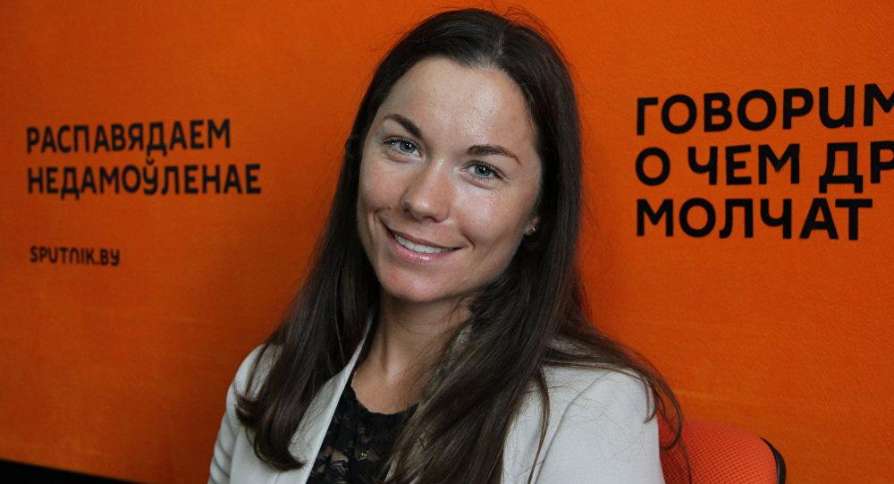 Белорусская биатлонистка, призер Олимпийских игр Надежда Скардино