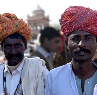Граждане Индии, архивное фото