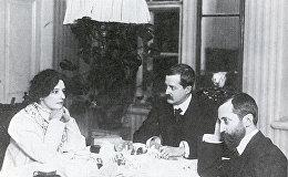 Зинаида Гипиус, Дмитрий Философов и Дмитрий Мережковский