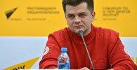 Руководитель отдела по реагированию на ЧС и розыску Белорусского общества Красного Креста Дмитрий Русаков