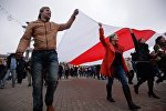 Шествие оппозиции в Минске