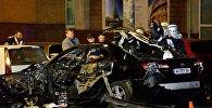 Автомобиль взорвался в центре Киева