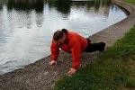 Тренировка Александра Кривошеева перед забегом на Минском полумарафоне