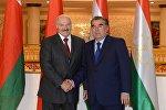 Президент Беларуси Александр Лукашенко и президент Таджикистана Эмомали Рахмон