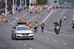 Кенийский бегун Майо Кимайо Хиллари Киптум (Maiyo Kimaiyo Hillary Kiptum) победил на основной дистанции Минского полумарафона – 2017