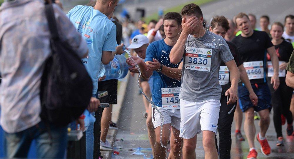 «Победитель» дистанции на10,5 сжульничал— 1-ый скандал полумарафона