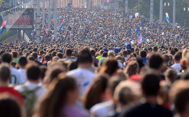 Такого массового забега Минск еще не знал