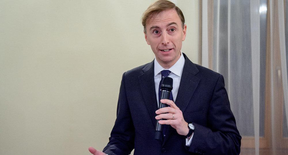 Чрезвычайный и полномочный посол Италии в Беларуси Стефано Бьянки