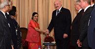 Встреча Александра Лукашенко с главой МИД Индии Сушмой Сварадж