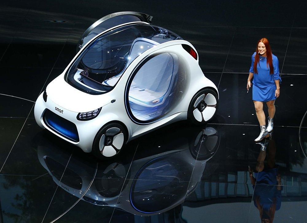 Автомобиль будущего Smart Vision EQ Fortwo
