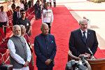 Визит Александра Лукашенко в Индию