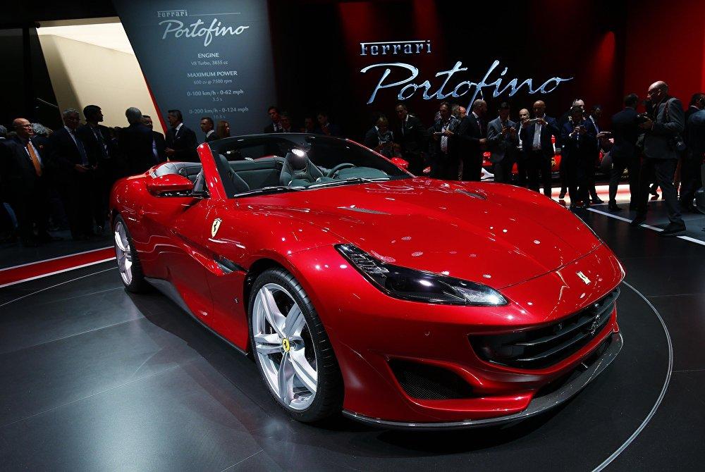 Новая модель Ferrari Portofino