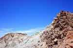 Кратер вулкана, архивное фото