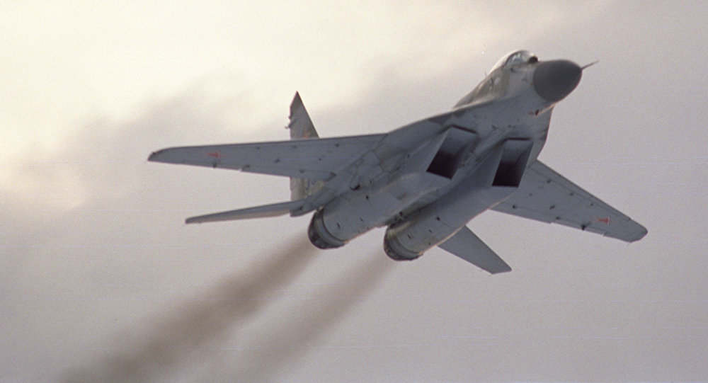 Фронтовой истребитель МиГ-29 СМТ, архивное фото