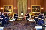 Встреча президентов Беларуси и Индии Александра Лукашенко и Рама Натха Ковинда прошла в Нью-Дели в президентском дворце Раштрапати-Бхаван