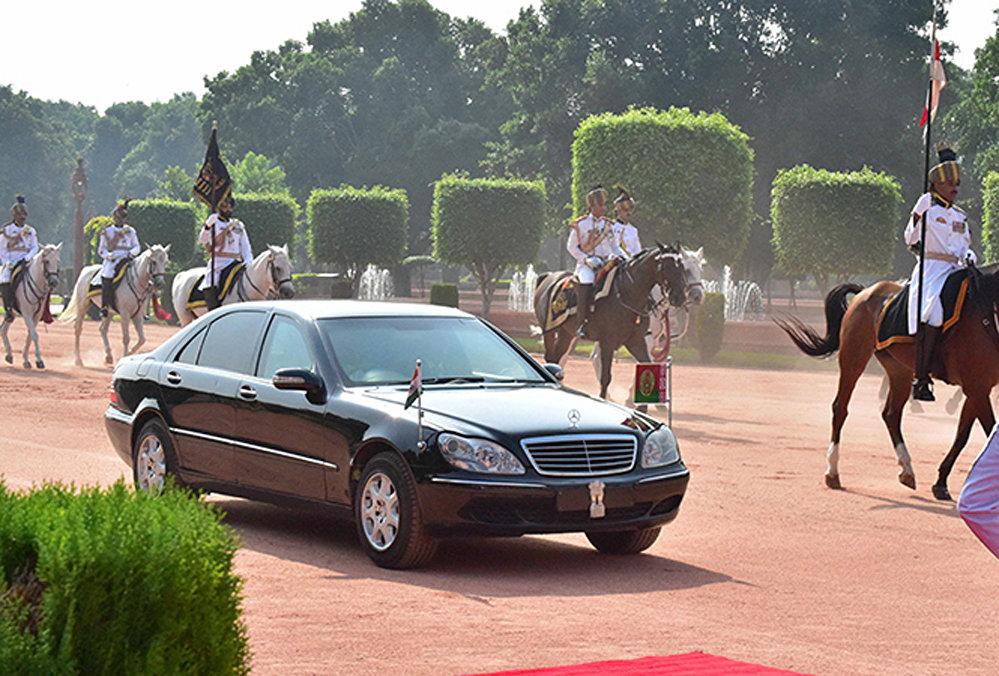 Автомобиль президента Беларуси