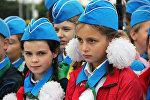 Торжественная линейка пионеров прошла в Минске