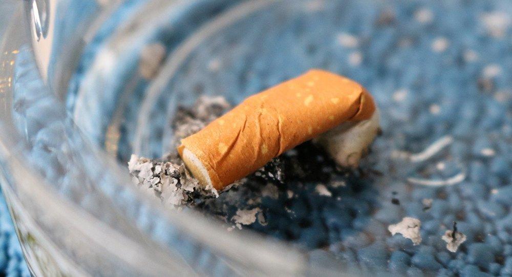 Затушенная сигарета