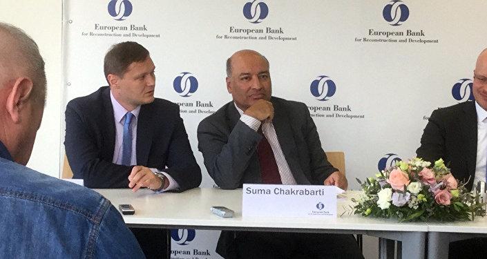 Президент Европейского банка реконструкции и развития Сума Чакрабарти