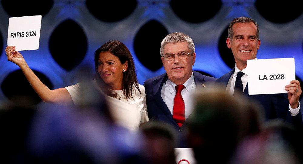 Париж и Лос-Анджелес официально утверждены в статусе столиц Олимпийских игр 2024 и 2028