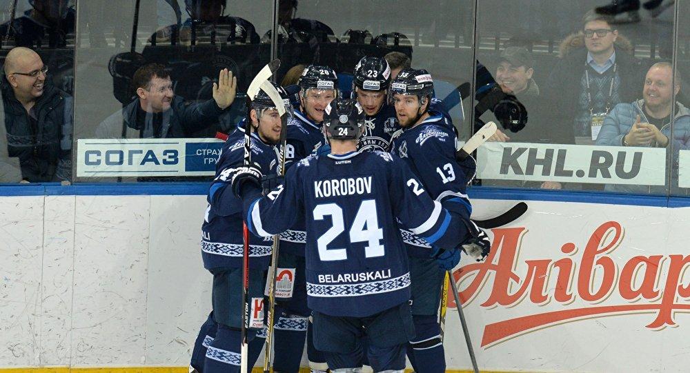 Хоккейный клуб Динамо-Минск, архивное фото