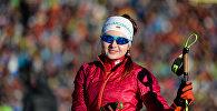 Белорусская биатлонистка Ирина Кривко