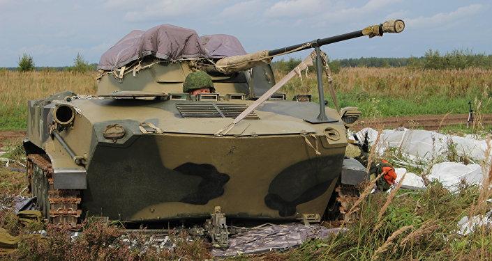 Передовые подразделения Псковского соединения ВДВ вступили в бой с условными нарушителями государственной границы