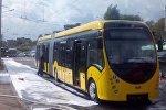 Электробус загорелся в Минске