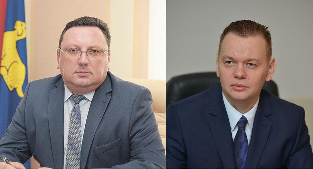 Андрэй Гарбачоў і Дзмітрый Алейнікаў