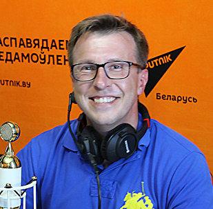 Российский журналист, ведущий и корреспондент телеканала Россия-24 Дмитрий Щугорев