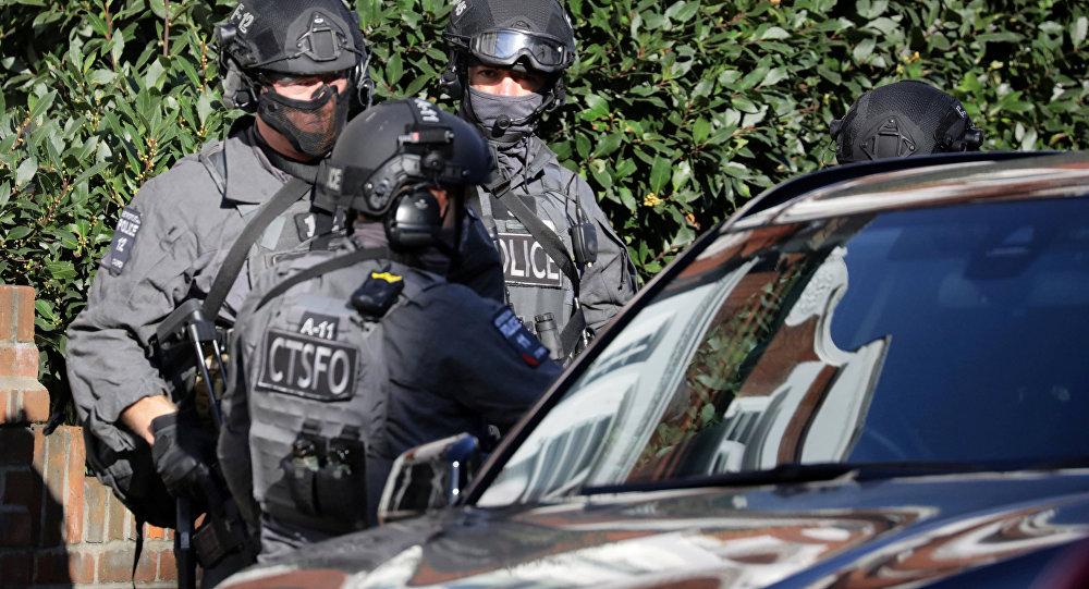 Полиция в Лондоне