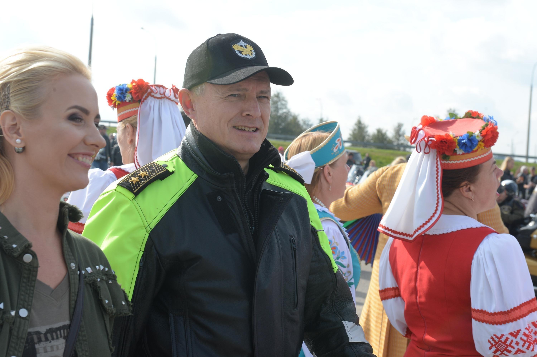 Глава МВД Игорь Шуневич на H.O.G. Rally Minsk