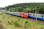 Поезд и электричка БЖД. Архивное фото