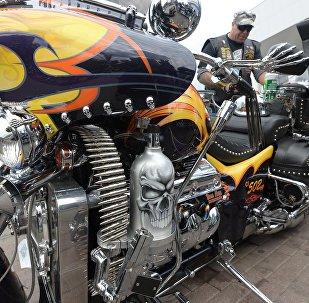 Необычное оформление мотоцикла - такой же неизменный атрибут настоящего байкера, как кожаная безрукавка и борода