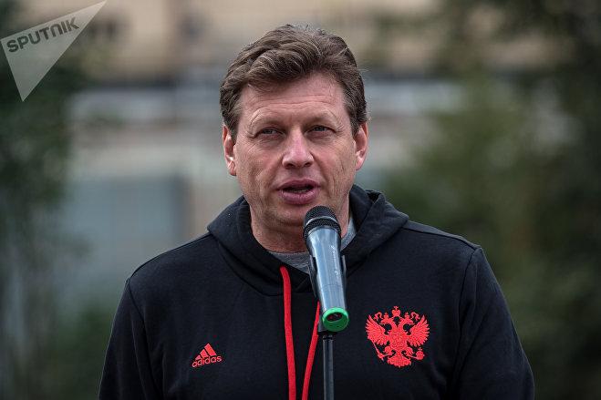 Олимпийский чемпион Николай Гуляев