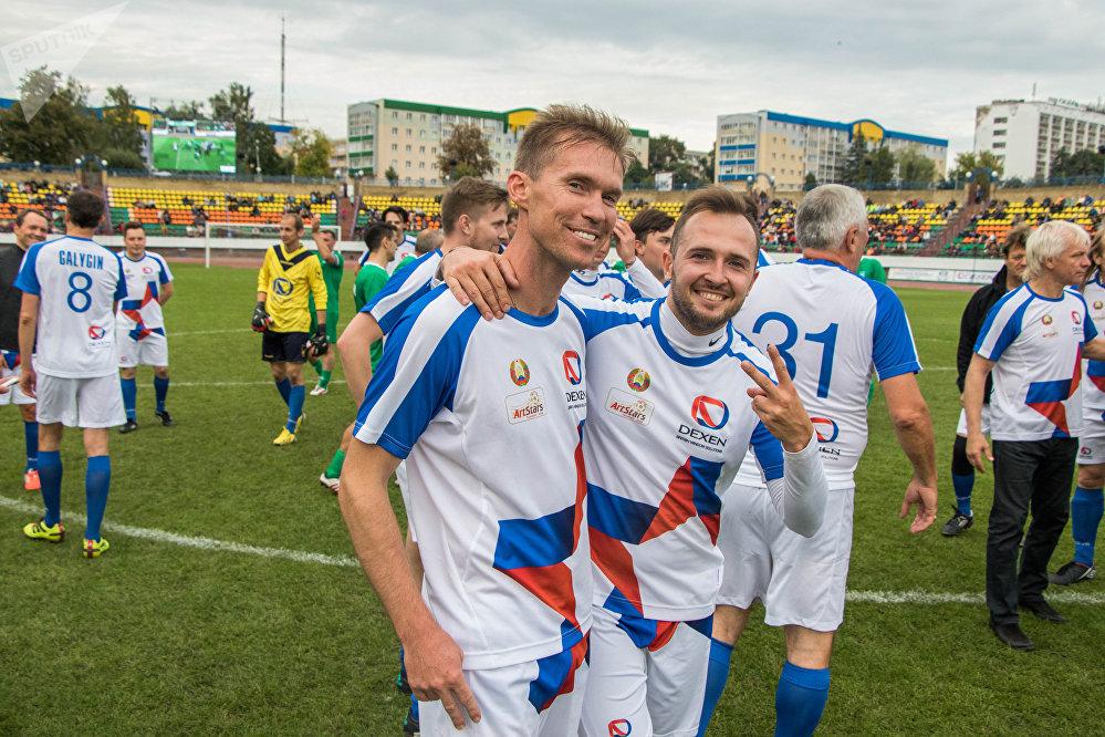 Шоумен Илья Конов и Александр Глеб обсуждали яркие моменты игры.