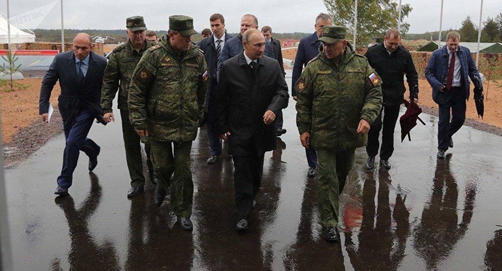 Путин сегодня посетит заключительную часть учений «Запад-2017»