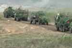Видеофакт: военные учения Запад-2017 на полигоне под Осиповичами