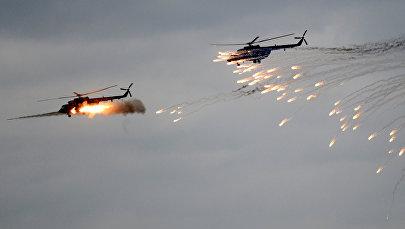 Вертолеты Ми-8МТ ВВС Беларуси