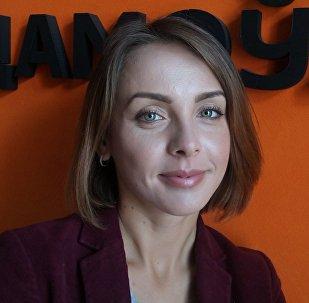 Шеф-редактор представительства МИА Россия сегодня в Крыму Татьяна Береговая