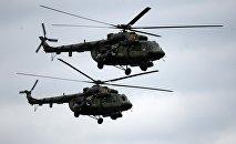 Вертолеты белорусских ВВС