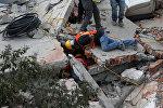 Спасатели в Мехико