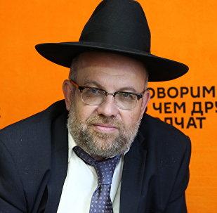 Главный раввин Иудейского религиозного объединения в Республике Беларусь Мордехай Райхинштейн
