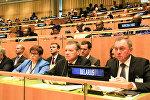 Министр иностранных дел Беларуси Владимир Макей на 72-й сессии Генеральной Ассамблеи ООН