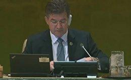 Генассамблея ООН в Нью-Йорке. День второй