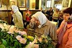 Минчане пришли поклониться и списку чудотворной Толгской иконы Пресвятой Богородицы