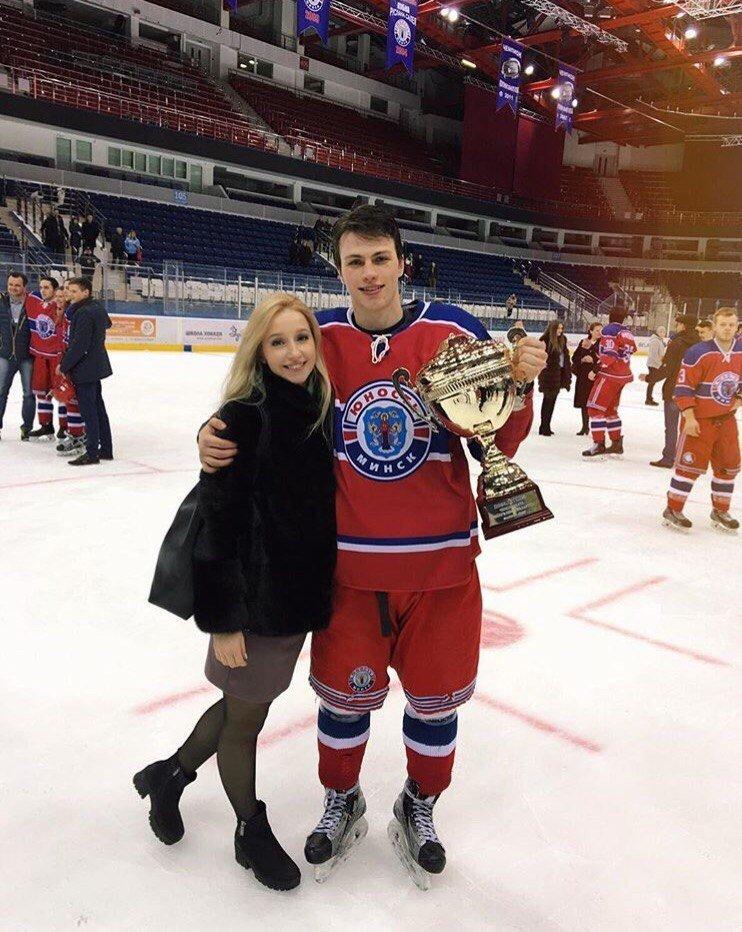 Владимир Джига и Анастасия Полякова