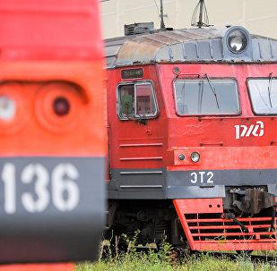 Поезда РЖД, архивное фото